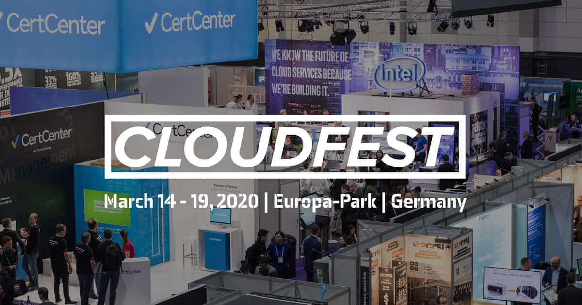 CloudFest 2020: The world's #1 cloud computing conference